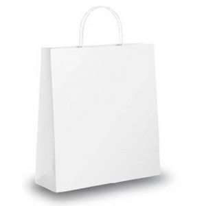 White Paper Bag 23 Gulf East Paper And Plastic