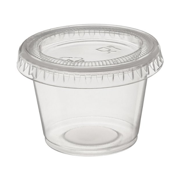 Clear Container 1oz Gulf East Paper Plastic Industries Llc